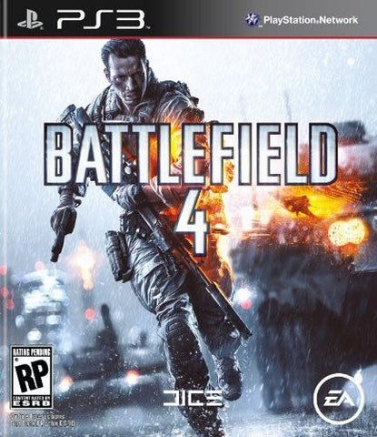 Battlefield 4 For PlayStation 3 (Physical Disc)