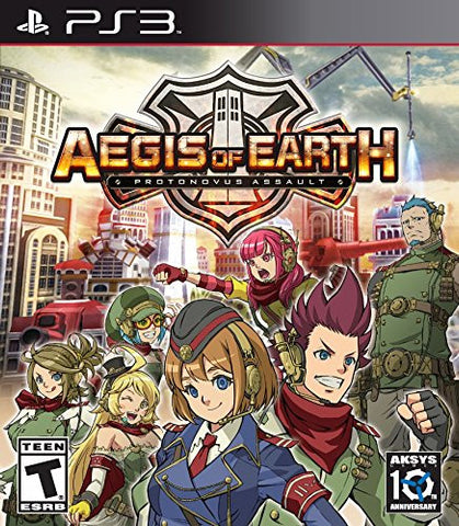 Aegis of Earth: Protonovus Assault For PlayStation 3 (Physical Disc)