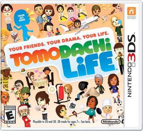 Tomodachi Life For 3DS (Physical Cartridge)