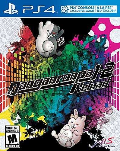 Danganronpa 1-2 Reload For PlayStation 4 (Physical Disc)