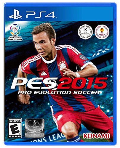 Pro Evolution Soccer 2015 For PlayStation 4 (Physical Disc)