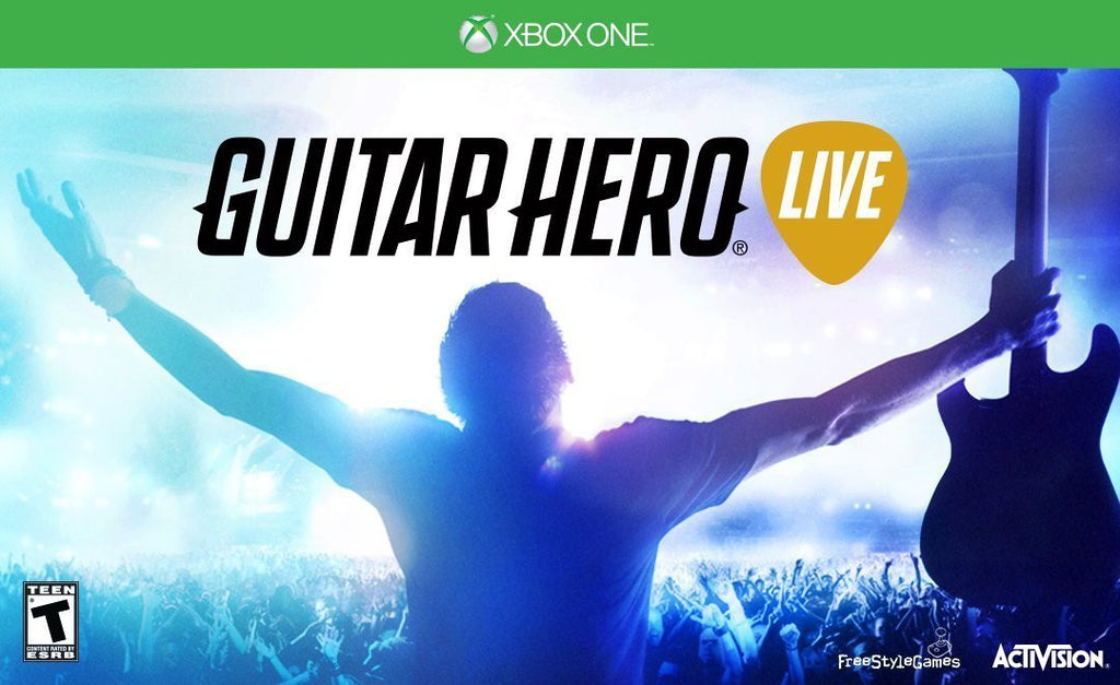Guitar Hero Live Wireless Guitar Bundle For Xbox One (Physical Disc)