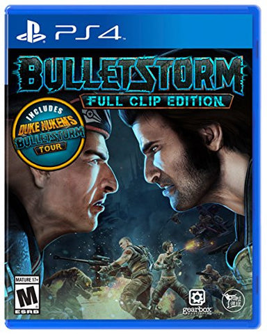 Bulletstorm: Full Clip Edition Pre-Order For PlayStation 4 (Physical Disc)