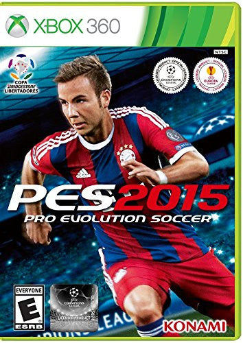 Pro Evolution Soccer 2015 For Xbox 360 (Physical Disc)