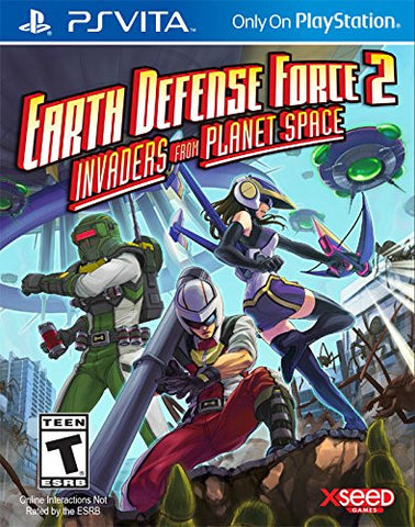 Earth Defense Force 2: Invaders from Planet Space For PSVita (Physical Cartridge)