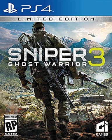 Sniper Ghost Warrior 3 Limited Edition Pre-Order For PlayStation 4 (Physical Disc)