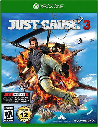 Just Cause 3 Xbox One Digital Game Download Xbox Live CD-Key Global