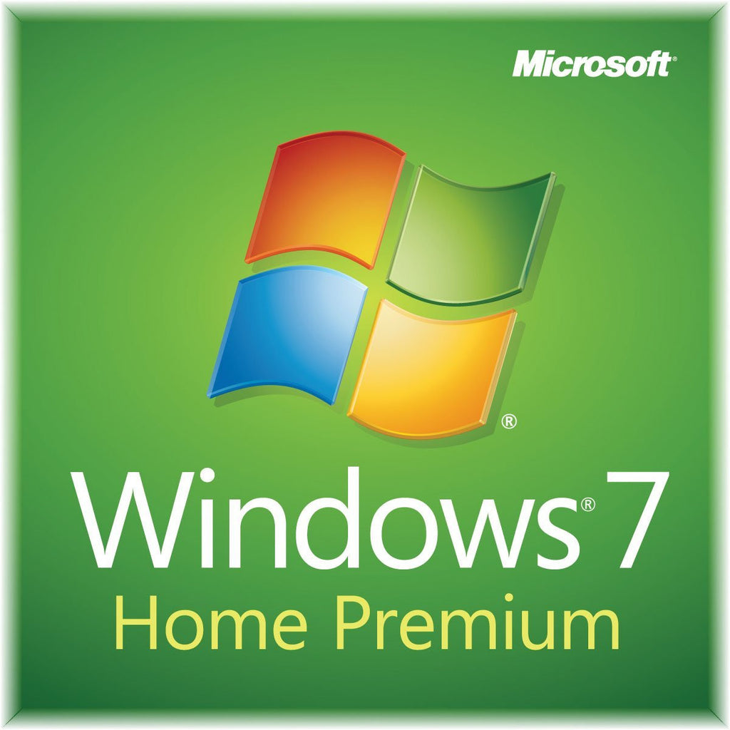 Windows 7 Home Premium SP1 64bit (OEM) System Builder DVD 1 Pack For PC (Physical Disc)