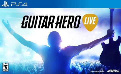 Guitar Hero Live Wireless Guitar Bundle For PlayStation 4 (Physical Disc)