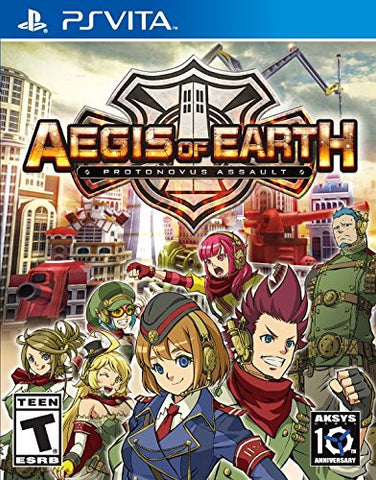 Aegis of Earth: Protonovus Assault For PSVita (Physical Cartridge)