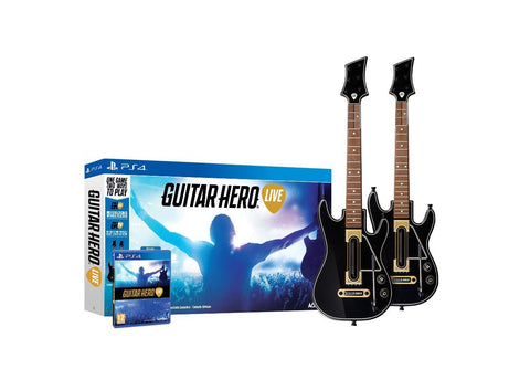 Guitar Hero Live 2-Pack Wireless Guitar Bundle For PlayStation 4 (Physical Disc)