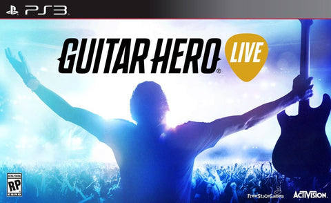 Guitar Hero Live Wireless Guitar Bundle For PlayStation 3 (Physical Disc)