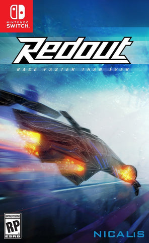 Redout Pre-Order For Switch (Physical Cartridge)