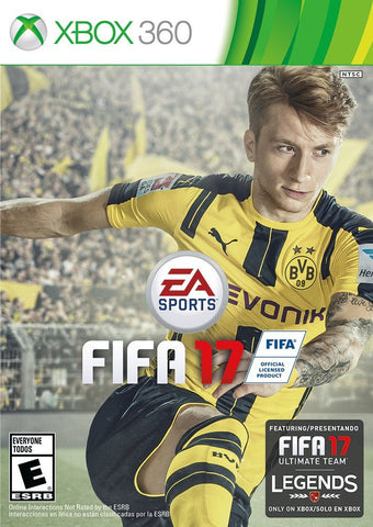 FIFA 17 For Xbox 360 (Physical Disc)