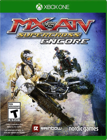MX vs. ATV: Supercross Encore Edition For Xbox One (Physical Disc)