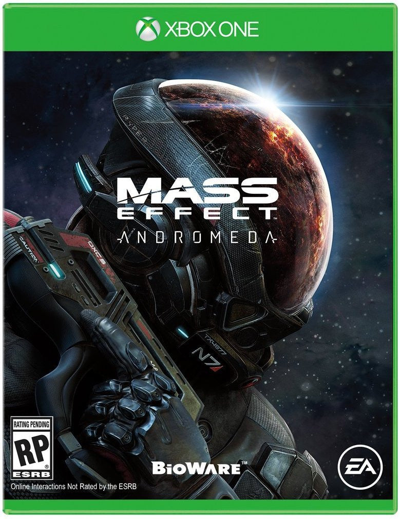 Mass Effect Andromeda Pre-Order For Xbox One (Physical Disc)