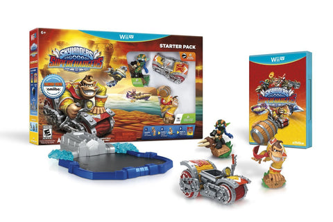 Skylanders SuperChargers Starter Pack For Wii U (Physical Disc)