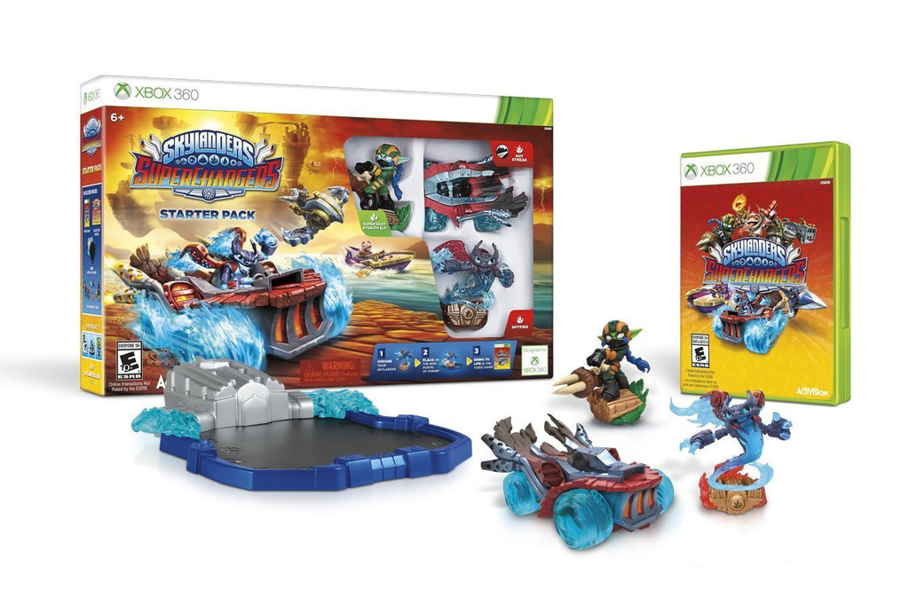 Skylanders SuperChargers Starter Pack For Xbox 360 (Physical Disc)
