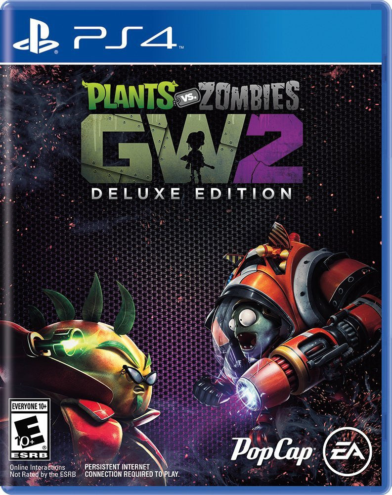 Plants vs. Zombies Garden Warfare 2 Deluxe Edition For PlayStation 4 (Physical Disc)