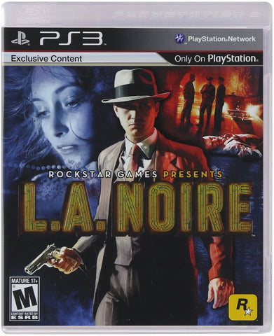 L.A. Noire For PlayStation 3 (Physical Disc)