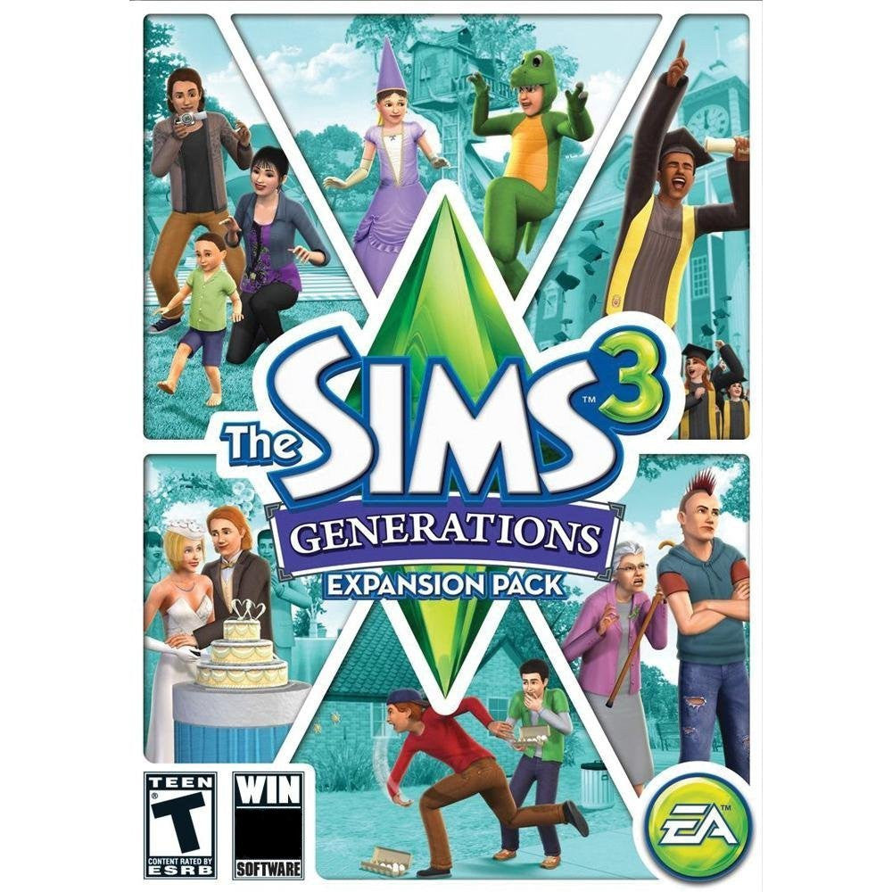 The Sims 3: Generations Expansion Pack Windows PC/Mac Game Download Origin CD-Key Global
