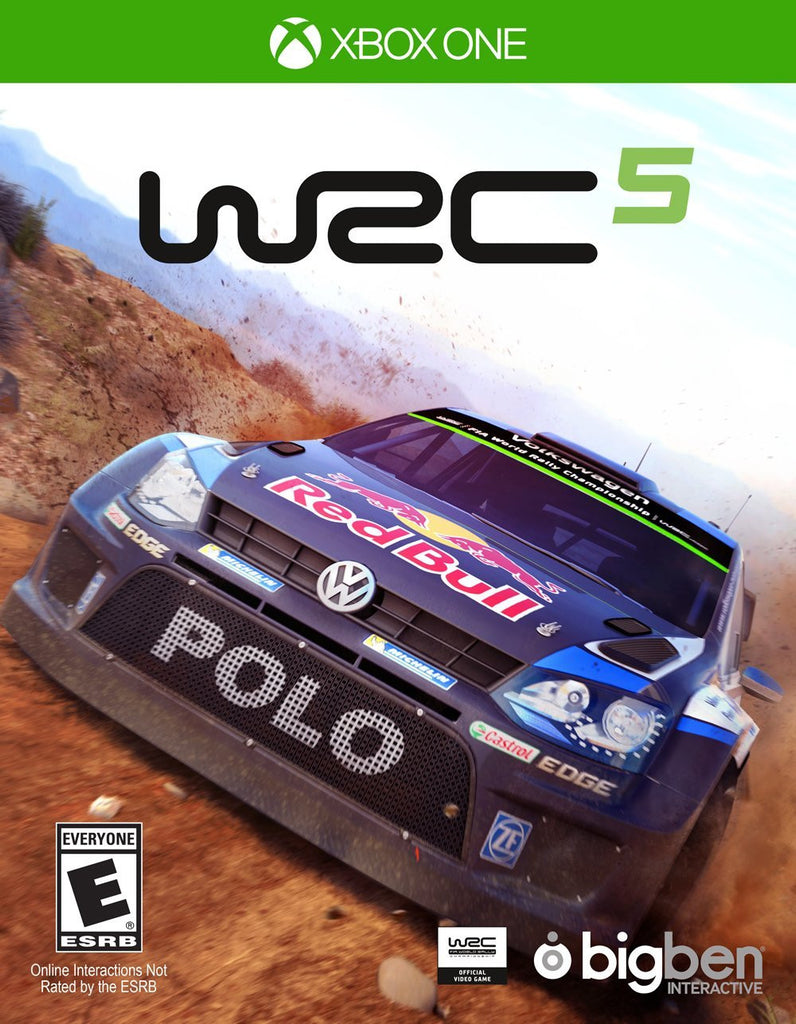 WRC 5 For Xbox One (Physical Disc)