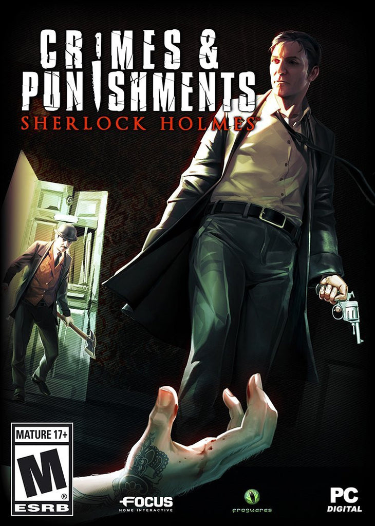 Sherlock Holmes: Crimes and Punishments Windows PC Game Download Steam CD-Key Global