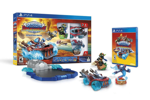Skylanders SuperChargers Starter Pack For PlayStation 4 (Physical Disc)