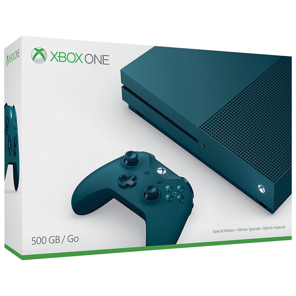 Xbox One S 500GB Game Console - Special Blue Edition