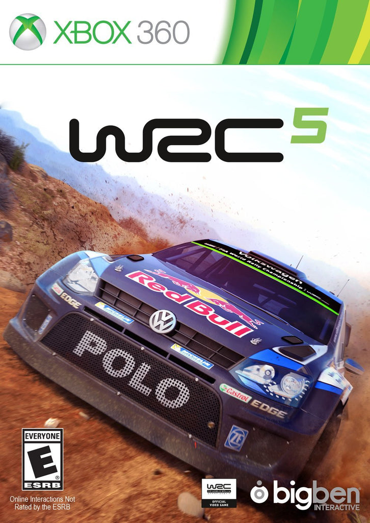 WRC 5 For Xbox 360 (Physical Disc)