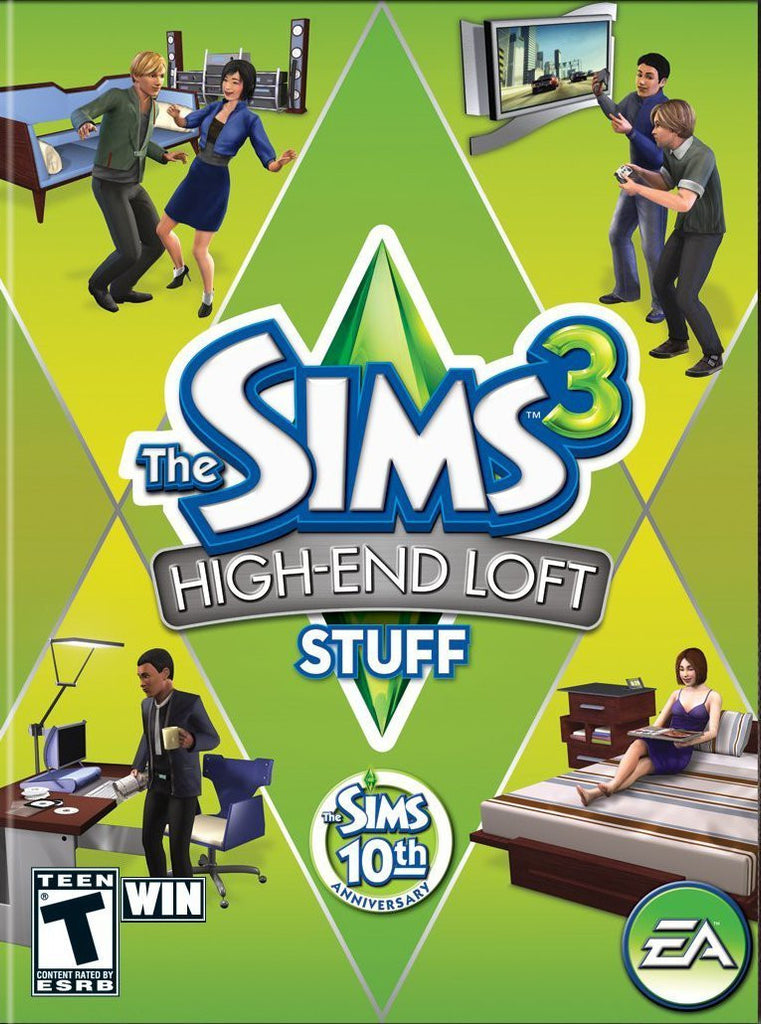 The Sims 3: High End Loft Stuff Pack Windows PC/Mac Game Download Origin CD-Key Global