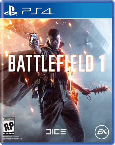 Battlefield 1 For PlayStation 4 (Physical Disc)