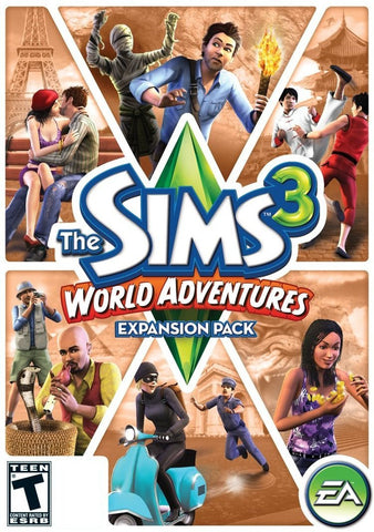 The Sims 3 World Adventures Expansion Pack Windows PC/Mac Game Download Origin CD-Key Global