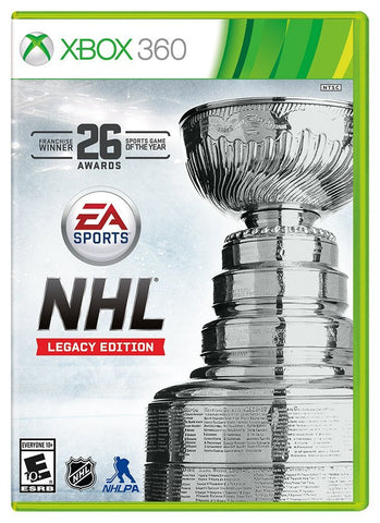 NHL Legacy Edition For Xbox 360 (Physical Disc)