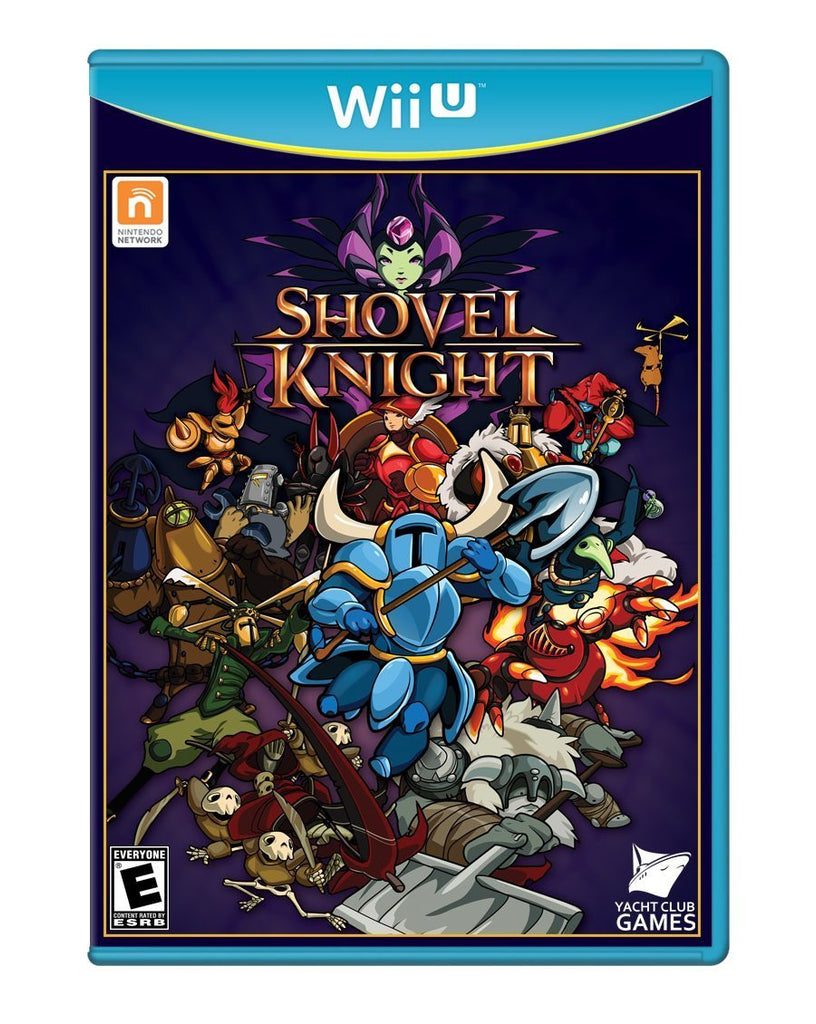 Shovel Knight For Wii U (Physical Disc)