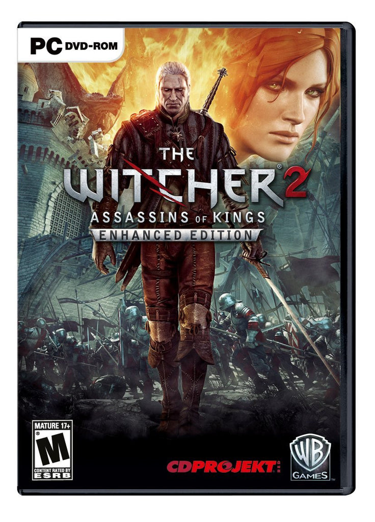 The Witcher 2: Assassins of Kings Enhanced Edition Windows PC/Mac Game Download Steam CD-Key Global
