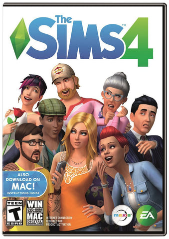 The Sims 4 Windows PC/Mac Game Download Origin CD-Key Global
