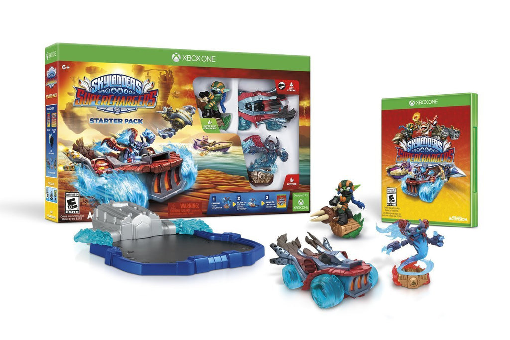 Skylanders SuperChargers Starter Pack For Xbox One (Physical Disc)