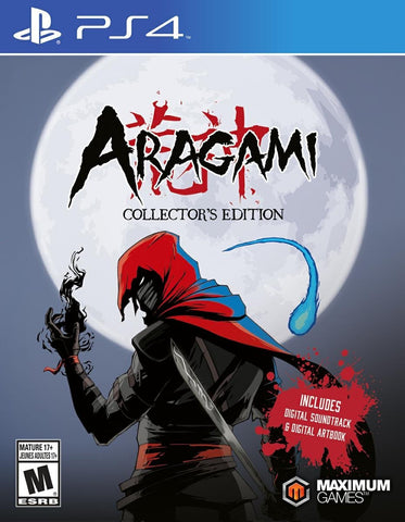 Aragami: Collector's Edition For PlayStation 4 (Physical Disc)