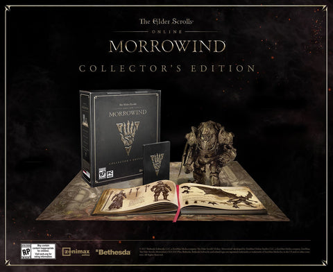 The Elder Scrolls Online: Morrowind - Collector's Edition Pre-Order For PC (Physical Disc)