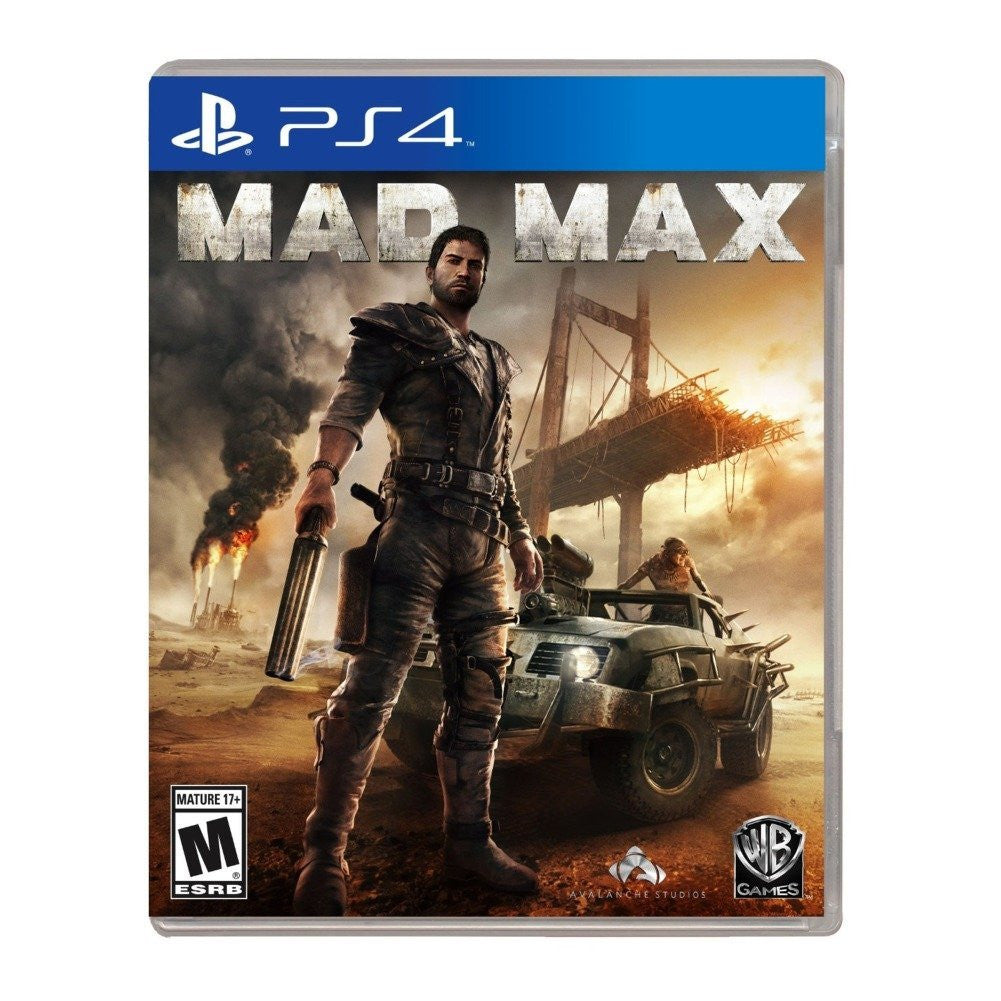 Mad Max For PlayStation 4 (Physical Disc)