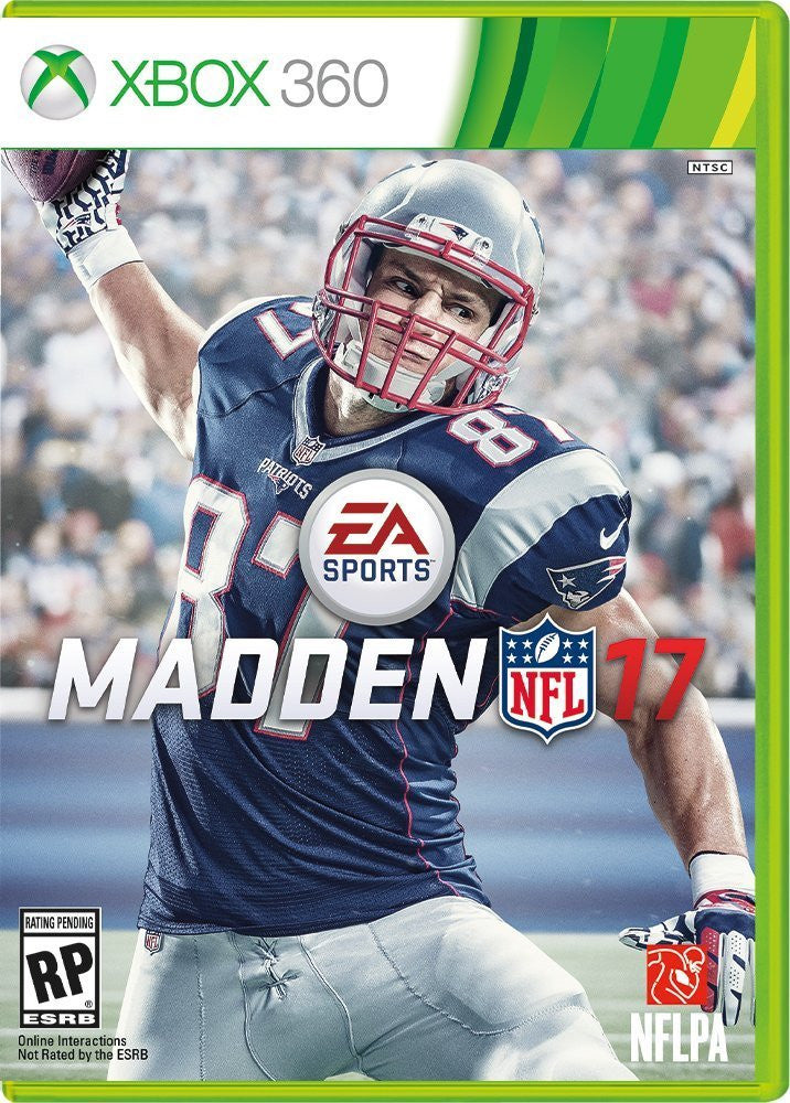 Madden NFL 17 – Standard Edition For Xbox 360 (Physical Disc)