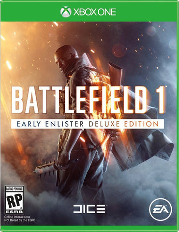 Battlefield 1 Early Enlister Deluxe Edition For Xbox One (Physical Disc)