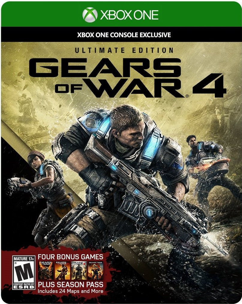 Gears Of War 4 Ultimate Edition For Xbox One (Physical Disc)