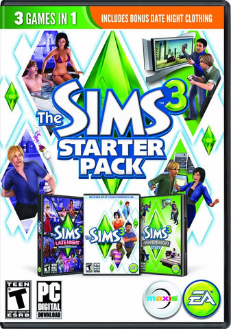 The Sims 3 Starter Pack Windows PC Game Download Origin CD-Key Global