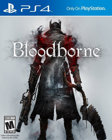 Bloodborne For PlayStation 4 (Physical Disc)
