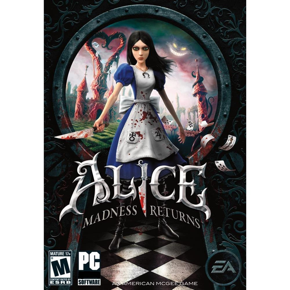 Alice Madness Returns Windows PC Game Download Steam CD-Key Global