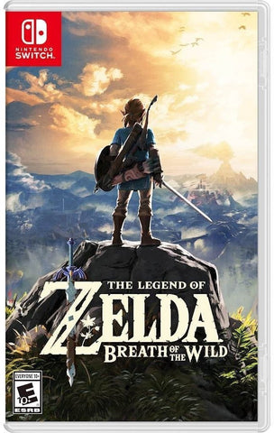 The Legend of Zelda: Breath of the Wild For Switch (Physical Cartridge)