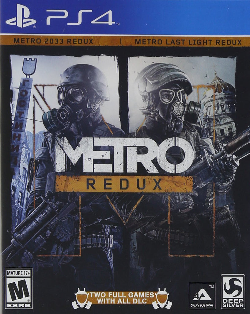 Metro Redux For PlayStation 4 (Physical Disc)