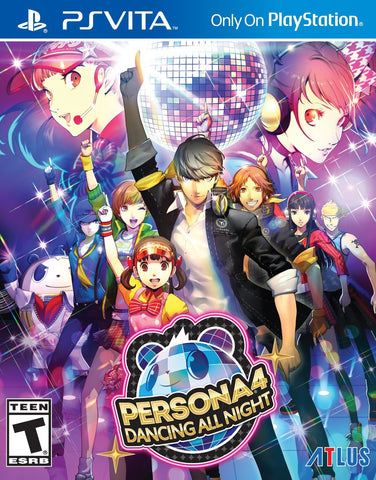 Persona 4: Dancing All Night For PSVita (Physical Cartridge)